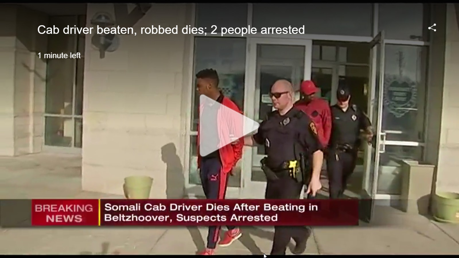 Somali refugee beaten to death in Pittsburgh