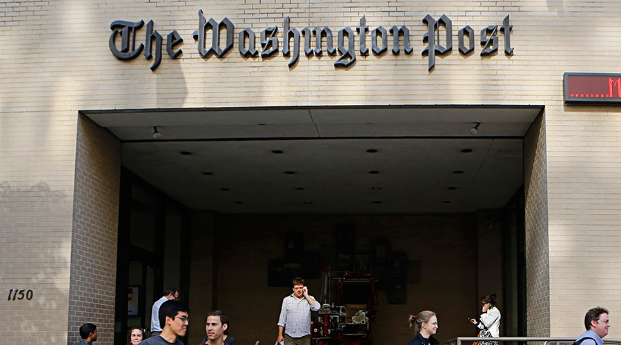 Fake News? Washington Post publishes paid articles from the Russian Government