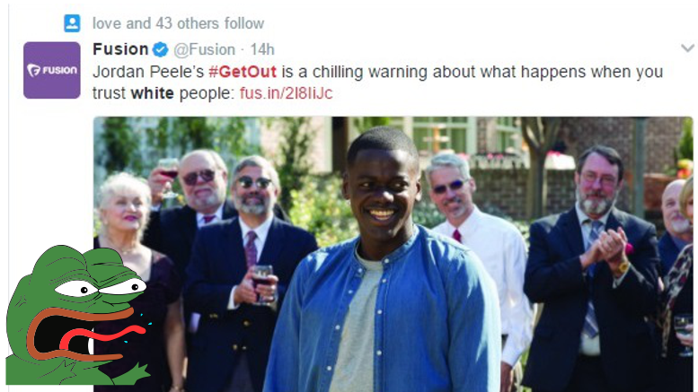 Get Out inspires shocking hate-filled article from Univision subsidiary