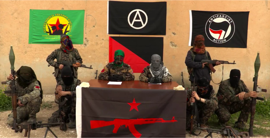 Armed Kurdish Antifa group declares global war on capitalism