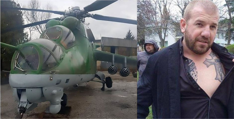 Famous Bulgarian crime fighter buys gunship to hunt for illegal aliens