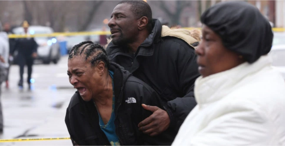 Bloodbath in Chicago's South Shore, 6 males, pregnant female killed in one day