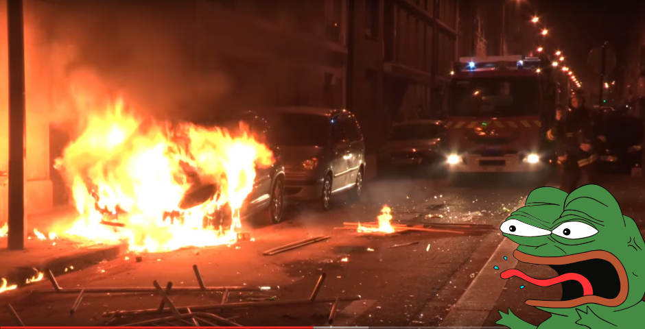 Chinese immigrants stage violent rally in Paris