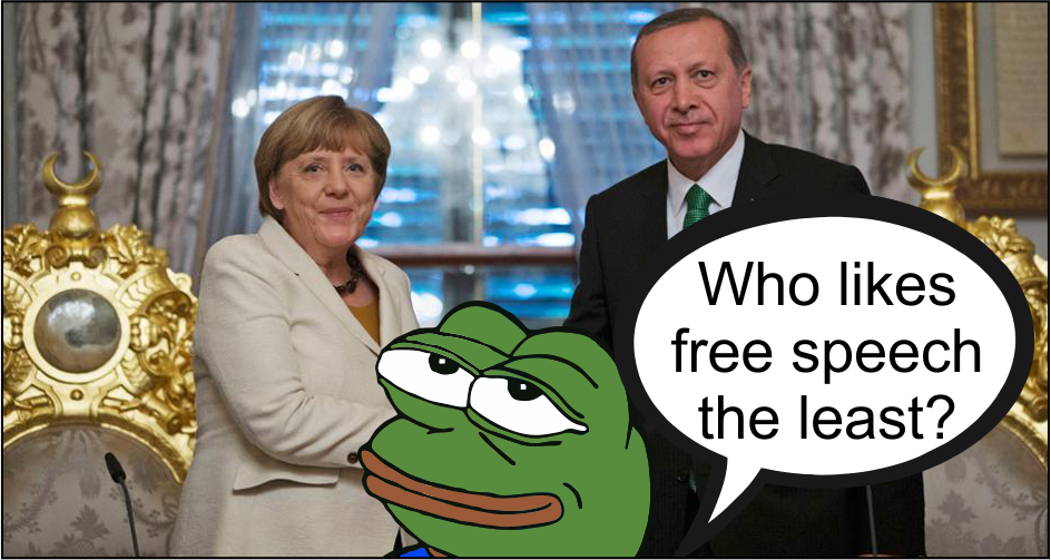 "Germany and Turkey are now at war over ""free speech"""