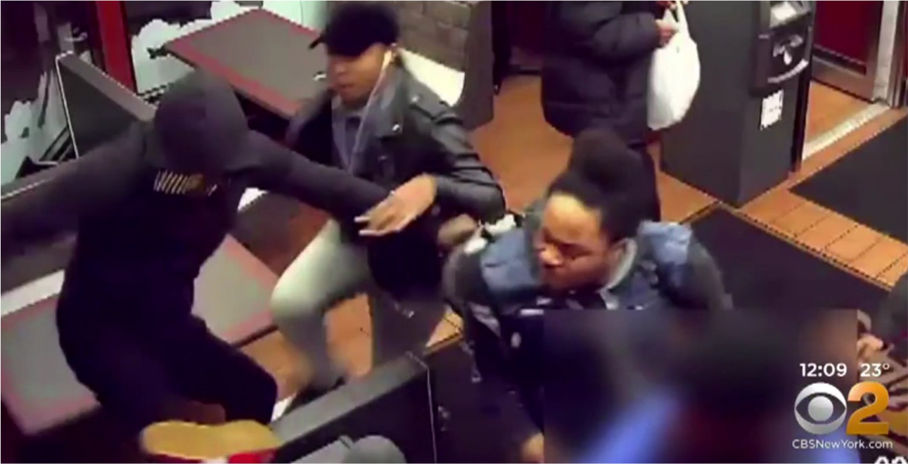 Disabled Good Samaritan horrifically pummeled at Brooklyn chicken joint
