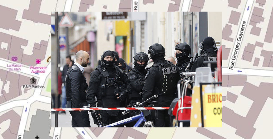 Father and son have throats slit in broad daylight in Paris