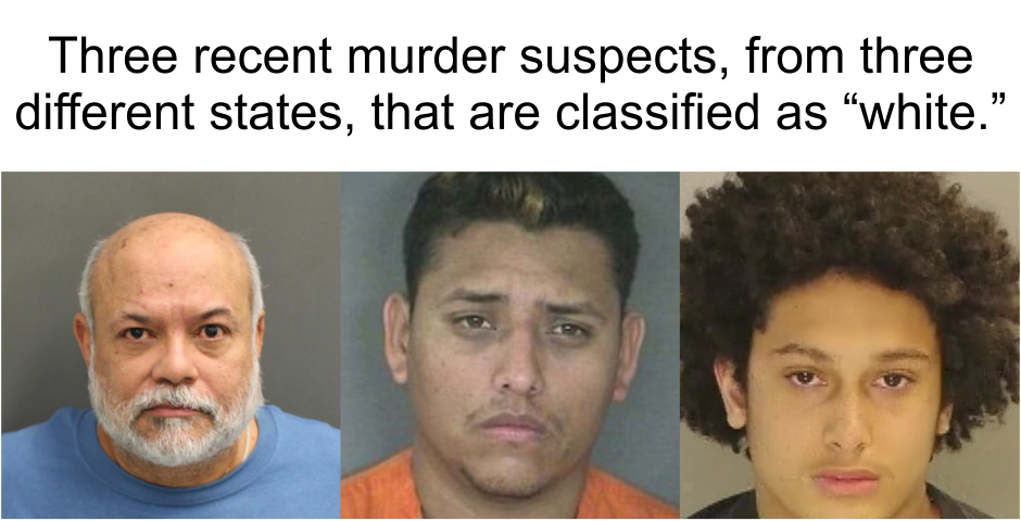 """The systematic misclassification of non-white perpetrators as """"white"""""""