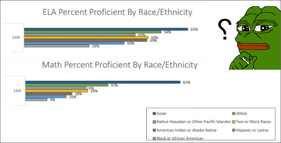 Michigan's vast Asian-Black academic performance gap