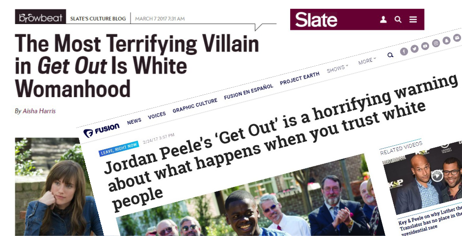 Get Out inspires large scale racial hatred online