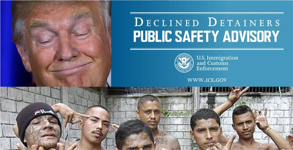 Trump publishes list of illegal alien criminals being protected by sanctuary cities