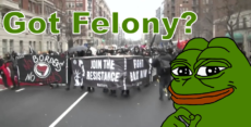 Over 50 Antifa have felony arraignments in DC today!
