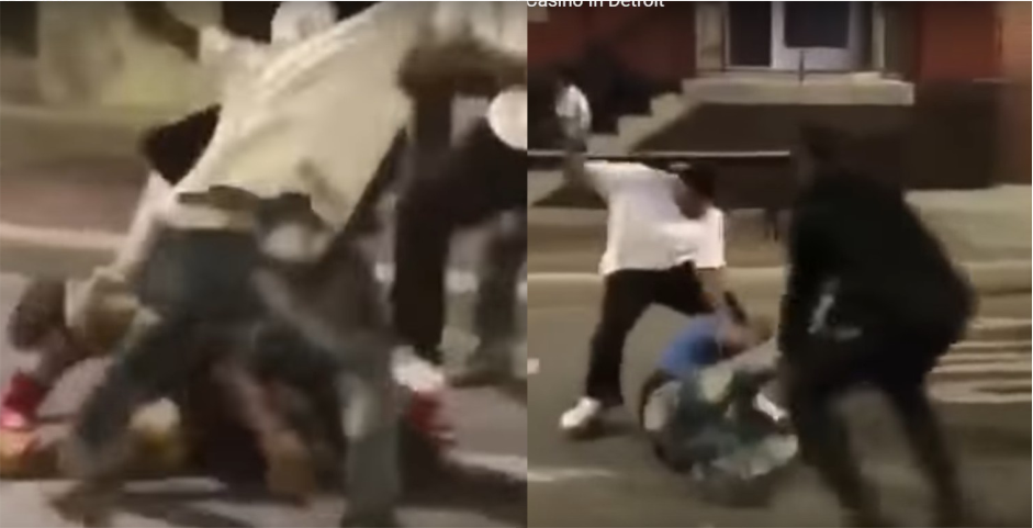 Mob violence that is shocking even for Detroit