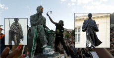 ?Racist? statues of Gandhi and Cecil Rhodes are being torn down in Africa