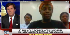 Black Nationalists occupying UC Santa Cruz administration building