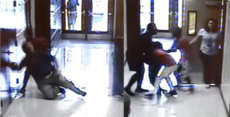 Shocking mob violence at a Middle School in Florida
