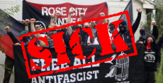 Portland PD says Antifa used feces, urine, and unknown chemicals