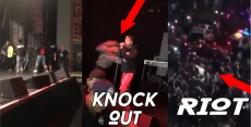 Minor violence at gangster rap concert in San Diego