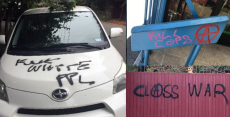 Two UC Berkeley students arrested for racially motivated serial vandalism