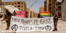 Antifa-linked volunteer fighters expelled from al-Raqqa campaign
