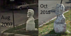 ChicagoÕs Lincoln statue has been vandalized constantly for over ten years