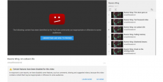Youtube censors non-violent, non-offensive nationalist folk/rock band